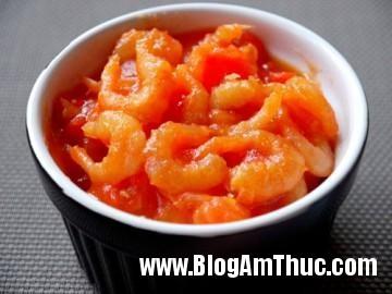 0efe1 Tôm khô xốt cà chua