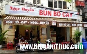 bunpinboluoibogionsansatphohoama 2e5b7 300x186 Quán bún pín bò, lưỡi bò theo kiểu Đà Nẵng ngon nổi tiếng Hà Nội