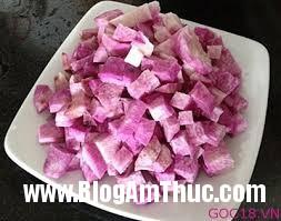che khoa Món ăn dân dã : chè bí đỏ khoai lang