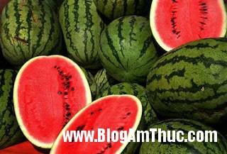 dua hau Chọn hoa quả tốt cho nam giới