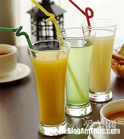 nhungloainuocnenuongvaomuahe c8340 Mùa hè nên uống nước gì để giải nhiệt ?