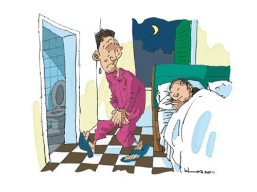tieu dem 48d2b1 Tiểu đêm nhiều lần là do bệnh lý ?