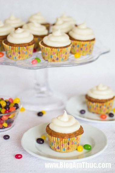 1166 Xốp mềm bánh cupcake cà rốt