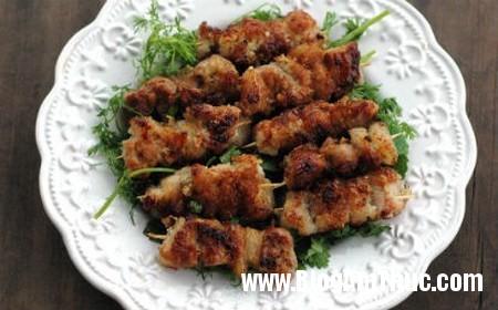 1290 Món thịt xiên áp chảo thơm ngon