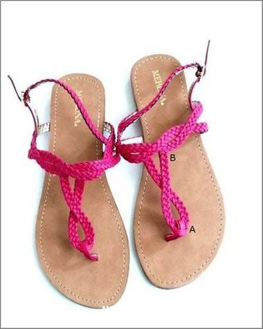 1301 Khéo tay trang trí hoa cho đôi sandal