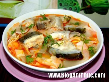 14 0 Món canh cá nấu măng chua