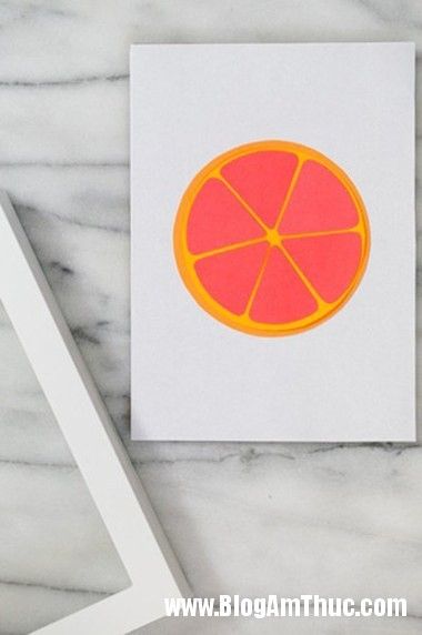 332 Trang trí phòng bé với bức tranh trái cây ngộ nghĩnh