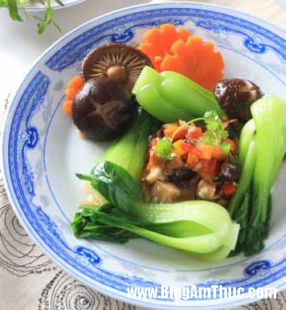 3 2 Hướng dẫn làm Nấm đông cô cải thìa sốt rau củ
