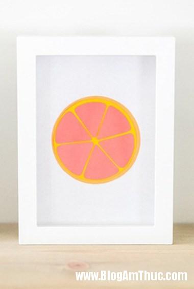 427 Trang trí phòng bé với bức tranh trái cây ngộ nghĩnh