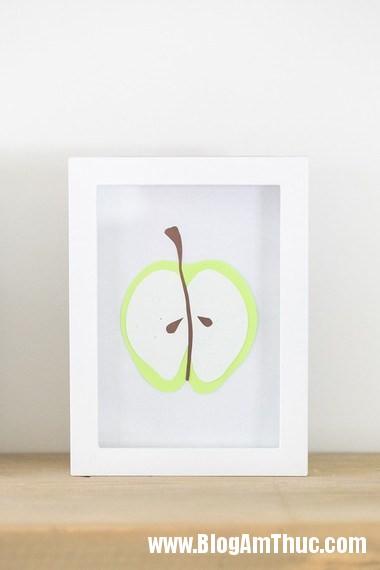 525 Trang trí phòng bé với bức tranh trái cây ngộ nghĩnh