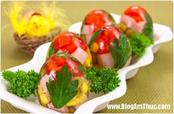 Cách làm món Trứng thập cẩm trong suốt tuyệt ngon 1 Lạ miệng với món trứng thập cẩm