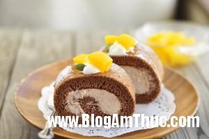 cach lam banh cuon chocolate 6 Bánh cuộn chocolate