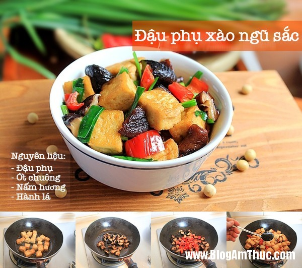 3 mon dau phu cuc tot cho suc khoe phai dep 2 3 Món ngon dễ chế biến từ đậu phụ
