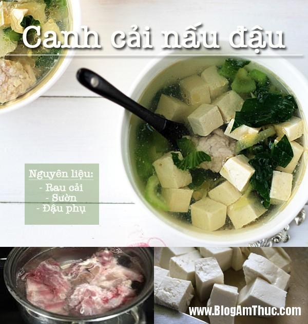 3 mon dau phu cuc tot cho suc khoe phai dep 3 3 Món ngon dễ chế biến từ đậu phụ