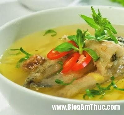 Cá+bống+nấu+chua Món Cá bống nấu chua