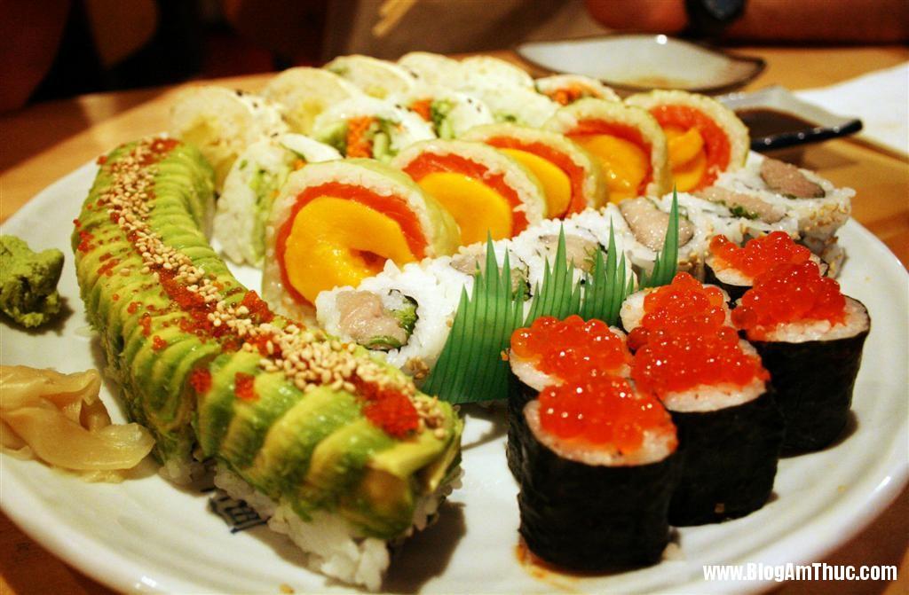 Cach lam sushi ngon du vi 1 Học cách làm sushi ngon đủ vị tại nhà