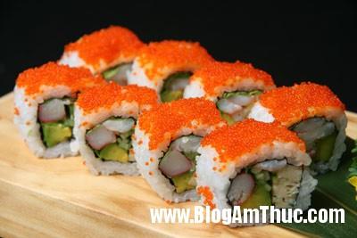 Cach lam sushi ngon du vi 3 Học cách làm sushi ngon đủ vị tại nhà