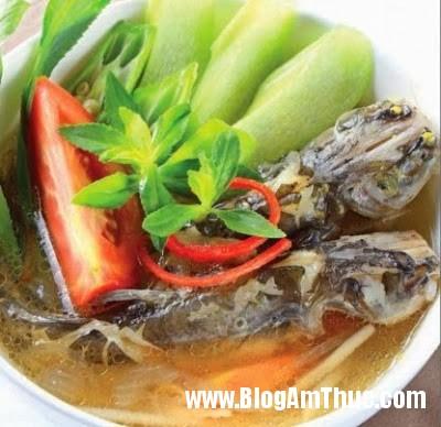 Canh+chua+cá+lăng Món ngon ngày hè với Canh chua cá lăng