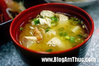 Sup+miso Cách nấu súp Miso Nhật Bản