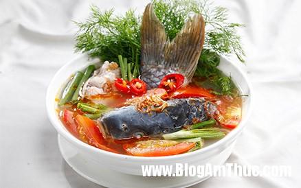 canh chua ca chep 50345 Nấu canh chua cá chép đơn giản và nhanh