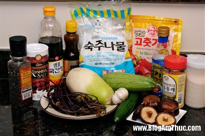 com tron han quoc2 Đổi khẩu vị với cơm trộn chay kiểu Hàn