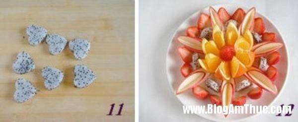 huong dan cach bay hoa qua hap dan va dep mat 6 Cách xếp trái cây ra dĩa hấp dẫn và đẹp mắt