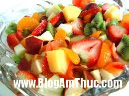 images Cách làm salad hoa quả tươi ngon