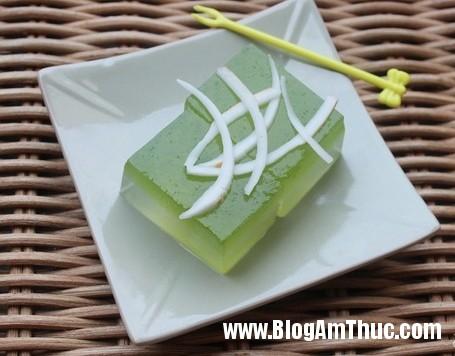 mach nang cach lam thach 2 mau mat lim dai ca nha 1 Cách làm món thạch rau câu 2 màu thơm ngon