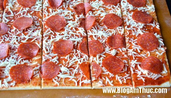 pizza xep lop 726467 3 Ăn là ghiền với Pizza xé lớp