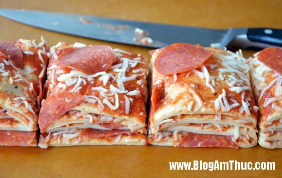 pizza xep lop 726467 4 Ăn là ghiền với Pizza xé lớp