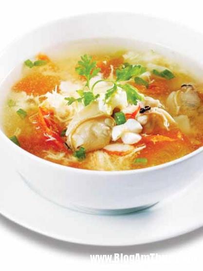 31 Ngon bổ canh trứng gà hải sản