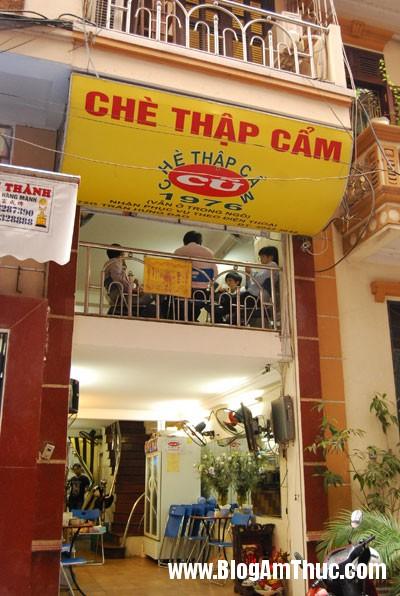 Quan Che Ha Noi Năm quán chè ngon mà rẻ ở Hà Nội