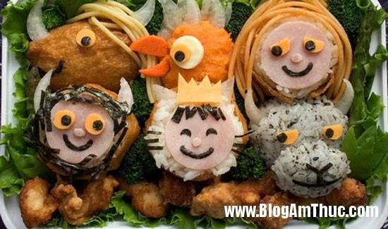 com bento 09 Muôn sắc từ cơm hộp Bento