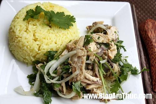 comga08 Cách chế biến món cơm gà Tam Kỳ