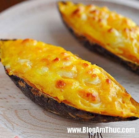 khoai1 Nhâm nhi khoai lang mật nướng phô mai