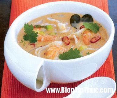 tôm2 Cách nấu soup tôm nấm tuyết