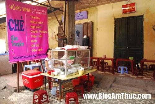 t411009 Năm quán chè ngon mà rẻ ở Hà Nội
