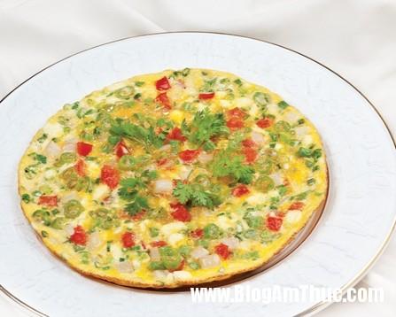 trung chien rau cu xot mayonnaise 44am5201 Đơn giản mà ngon với trứng chiên rau củ sốt mayonnaise