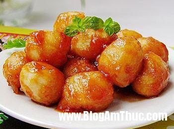 69601ba9 trung cut chua ngot Trứng cút sốt chua ngọt cho bữa cơm chiều
