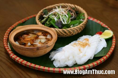 cac mon banh dan da tai quan ngon2 Bánh khúc dân dã tại quán Ngon Hà Nội