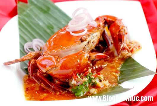 cua sot Thơm ngon, hấp dẫn món cua sốt chua ngọt