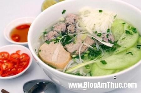 den bun huong que thuong thuc huong vi bac2 Thưởng thức hương vị Bắc ở quán bún Hương Quê