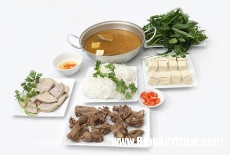 den bun huong que thuong thuc huong vi bac5 Thưởng thức hương vị Bắc ở quán bún Hương Quê