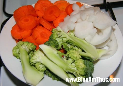 gan bo rau cu qua 1 Cách nấu soup gân bò rau củ thơm ngon