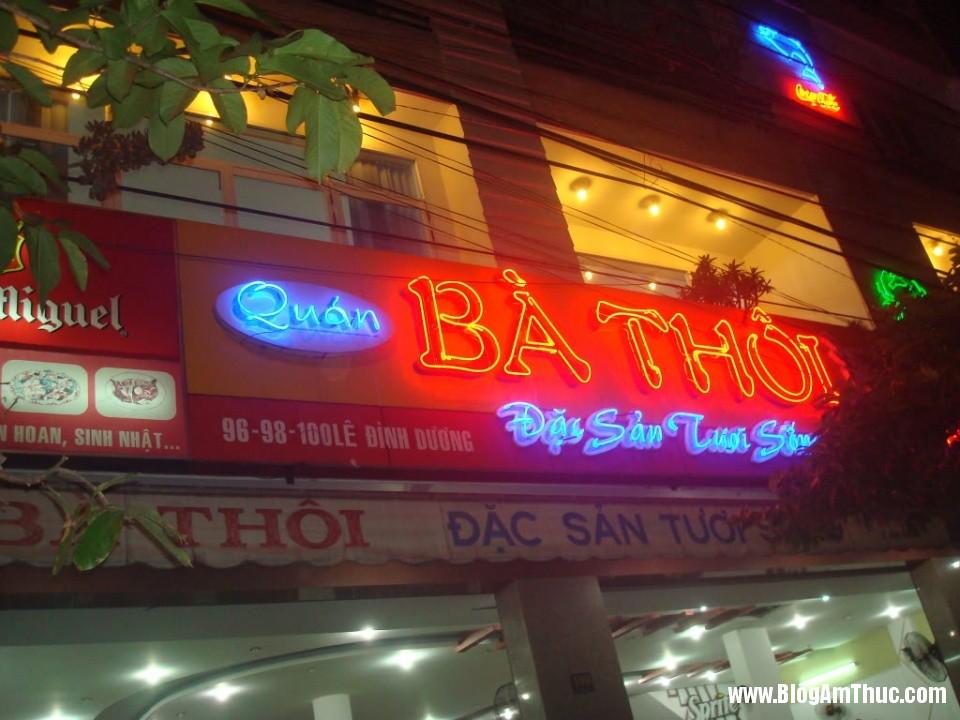 hai san ba thoi 1 Địa chỉ ăn hải sản tươi ngon khi đi du lịch Đà Nẵng