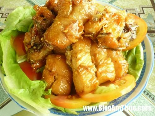 hap dan thit ga chien mam2 Cách chế biến món thịt gà chiên mắm đơn giản mà ngon
