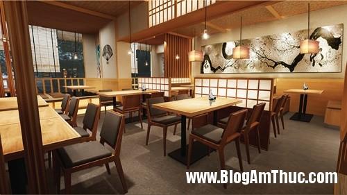 nha hang thuan nhat giua long sai gon4 Thưởng thức món ăn Nhật Bản ở trung tâm Sài Gòn