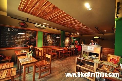 quan ca phe phong cach lop hoc han quoc thap nien 702 Quán cà phê đậm chất Hàn Quốc ở Hà Nội