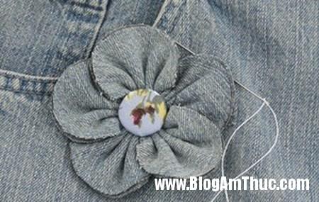 Bien quan jeans cu thanh tui xinh doc dao 8 Khéo tay may túi đẹp từ chiếc quần jean cũ