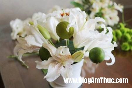Binh hoa xen qua sung tuc dam am 3 Bình hoa quả xum xuê cho ngôi nhà đầm ấm